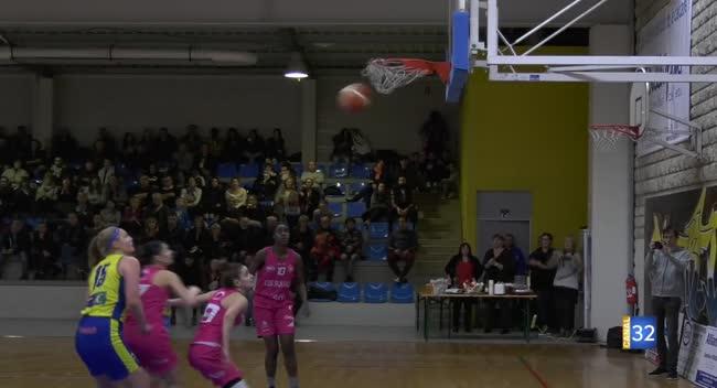 Canal 32 - Basket N1, le SSB a dû s'arracher face à La Rochelle : 70-66