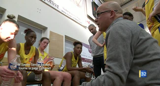 Canal 32 - Sainte-Savine Basket : la vie sans Ludovic Lethenet