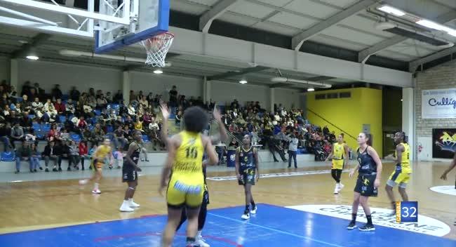 Canal 32 - Basket N1 , le SSB pulvérise Sannois/St-Gratien : 92-48