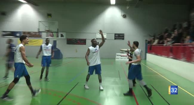Canal 32 - Basket N3 : Le BCSA dicte sa loi à Alfortville : 71-69