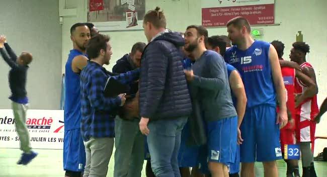 Canal 32 - Basket N3, le BCSA termine bien l'année face à Saint-Dizier : 98-75