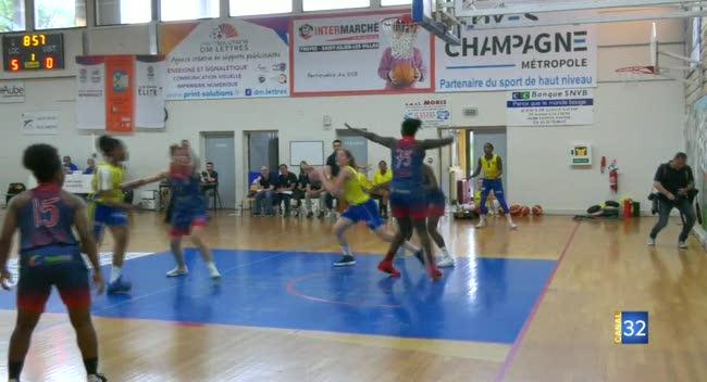 Canal 32 - Basket Play-offs : le SSB bat le Stade Français et se rapproche de la N1
