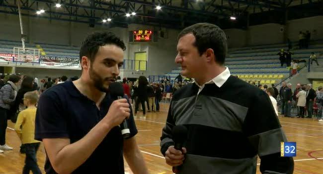 Canal 32 - Basket SSB-Trith : l'après-match