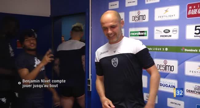 Canal 32 - Benjamin Nivet compte rester proche du football et de son club de coeur