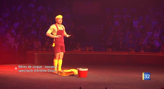 Canal 32 - Bêtes de cirque : le nouveau spectacle d'Arlette Gruss