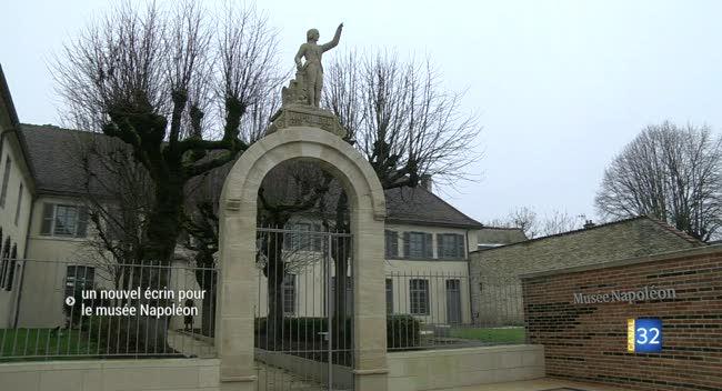Canal 32 - Brienne-le-Château : le musée Napoléon se modernise