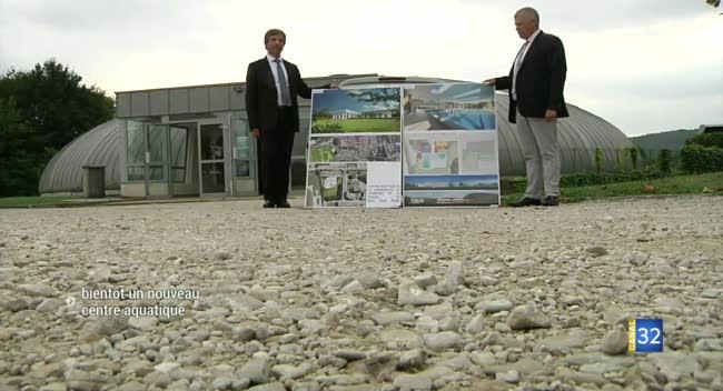 Canal 32 - Bientôt un nouveau centre aquatique à Bar-sur-Aube