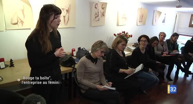 Canal 32 - Bouge ta boîte : un réseau féminin pour booster son entreprise