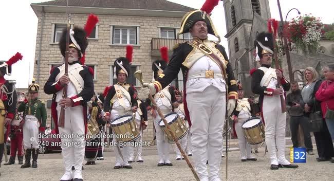 Canal 32 - Brienne-le-Château : une centaine de reconstitueurs pour se rappeler de Napoléon