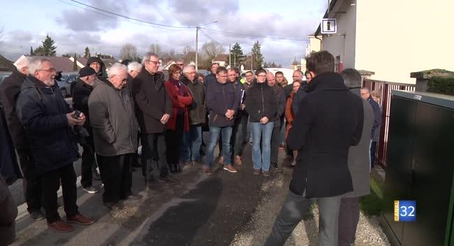 Canal 32 - Buchères inaugure l'arrivée de la fibre optique