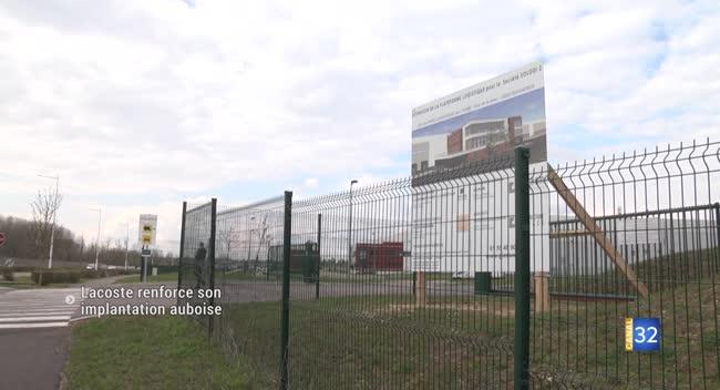 Canal 32 - Buchères : Lacoste s'agrandit au sein du Parc logistique de l'Aube