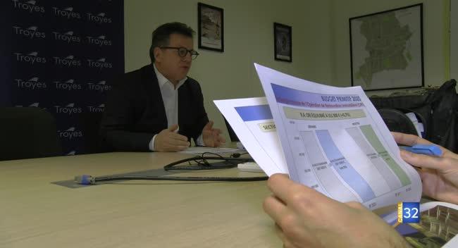 Canal 32 - Ville de Troyes : un budget de 102 millions d'€ en 2020.