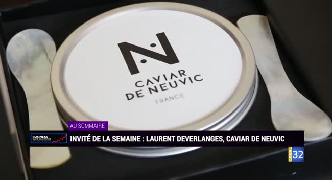 Canal 32 - Business Club de France - Caviar de Neuvic