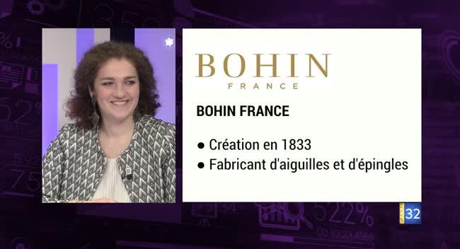 Canal 32 - Business Club de France des Entrepreneurs - Bohin France