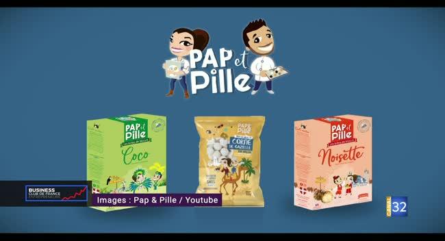 Canal 32 - Business Club de France des Entrepreneurs - Pap et Pille