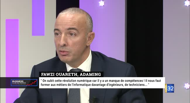 Canal 32 - Business Club de France des Entrepreneurs - Adaming