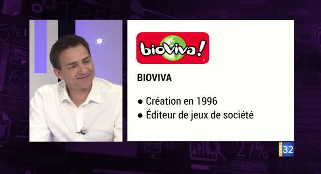 Canal 32 - Business Club de France des Entrepreneurs - Jeux Bioviva