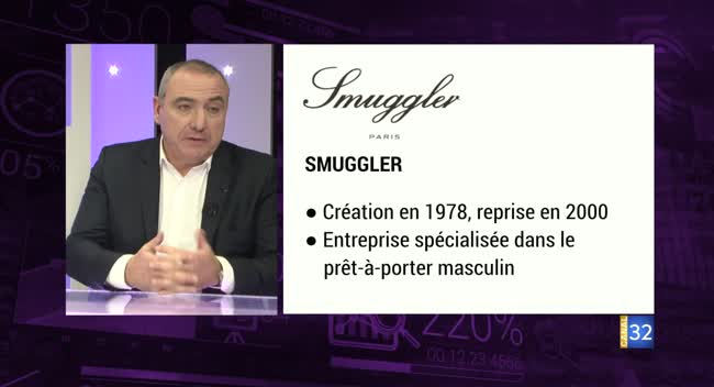 Canal 32 - Business Club de France des Entrepreneurs - Smuggler