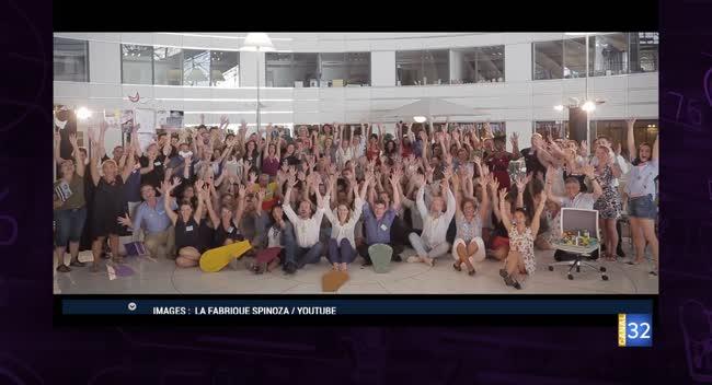 Canal 32 - Business Club de France - Fabrique Spinoza, le bien-être au travail