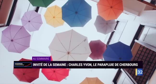 Canal 32 - Business Club de France - Le parapluie de Cherbourg