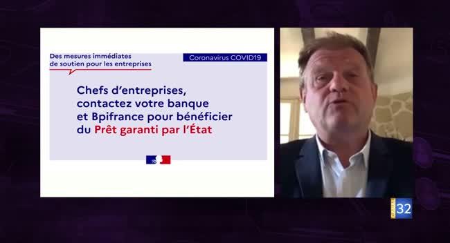 Canal 32 - Business Club, l'interview flash éco - le soutien de la BPI