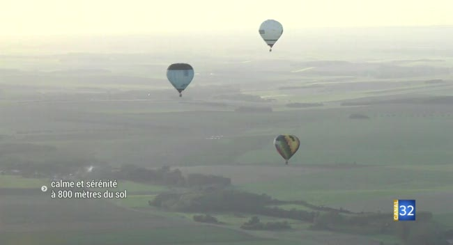 Canal 32 - Saint-Lupien : le rassemblement de montgolfières a séduit