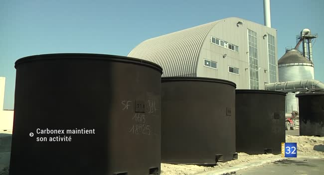 Canal 32 - Gyé-sur-Seine : Carbonex poursuit son activité et soutient la filière bois