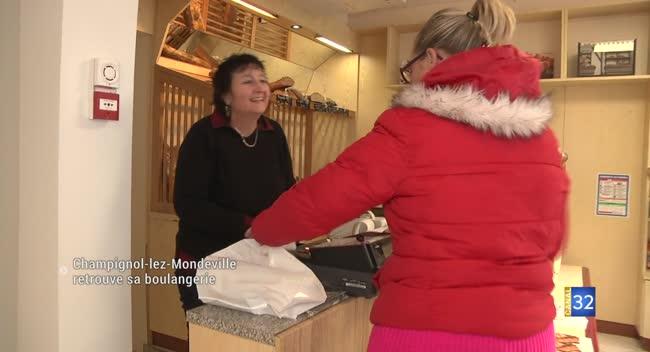 Canal 32 - Champignol-lez-Mondeville retrouve sa boulangerie