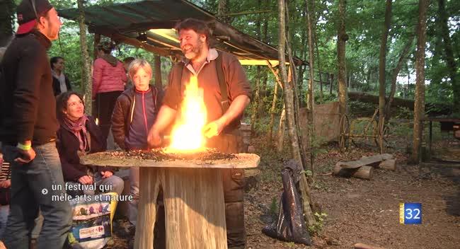 Canal 32 - Chaource : arts et nature se mêlent à la ronde des feux