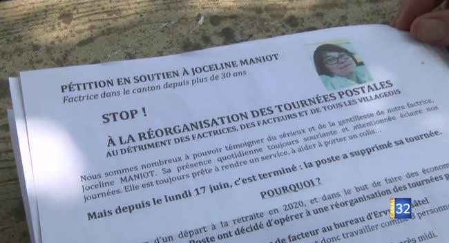 Canal 32 - Chessy-les-Prés : habitants et élus se mobilisent pour l'ancienne factrice