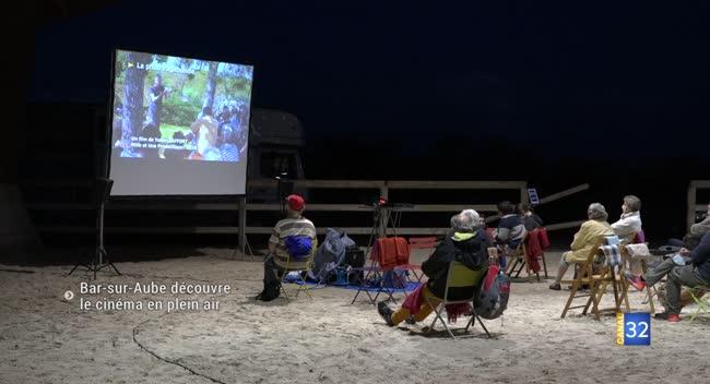 Canal 32 - Bar-sur-Aube : le 7ème art de retour avec des séances ciné en plein-air