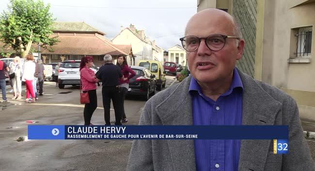 Canal 32 - Bar/Seine : la réaction de Claude Hervy, arrivé 3e au second tour des Municipales