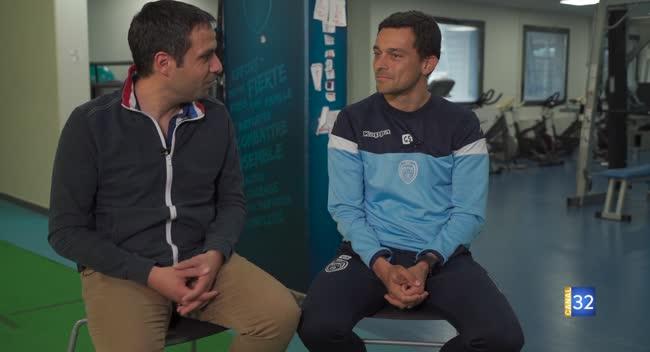 Canal 32 - Club Estac avec Gabriel Santos, l'entraîneur-adjoint