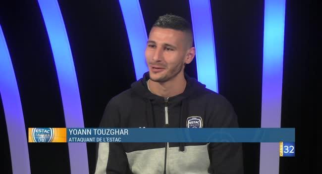 Canal 32 - Club Estac avec Yoann Touzghar (1ère partie)