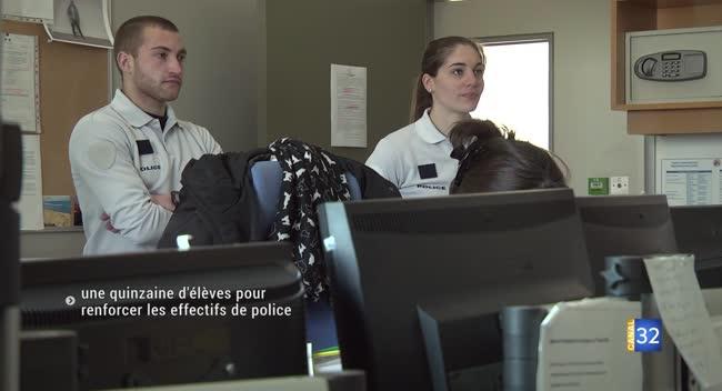 Canal 32 - Commissariat de Troyes : une quinzaine d'apprentis policiers pour renforcer les effectifs