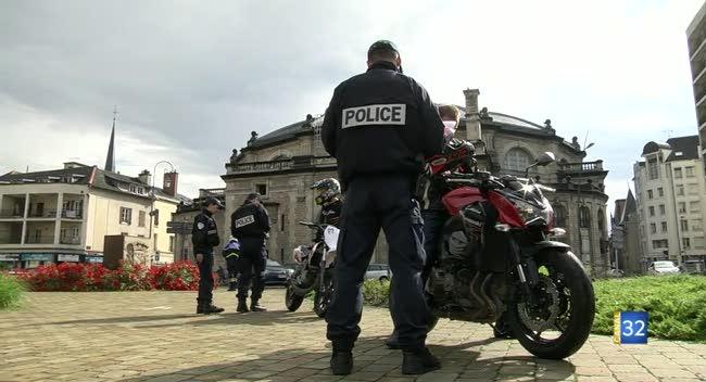 Canal 32 - Les deux-roues surveillés de près par la Police