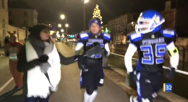 Canal 32 - Corrida de Noël : les pygargues participent !