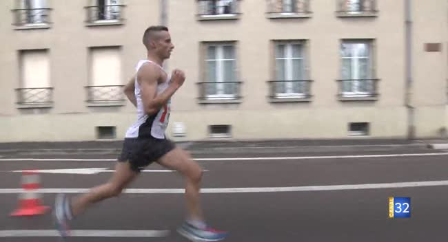 Canal 32 - Course à pied : Emile Blondel-Hermant souverain sur le Rotary tour du bouchon de Champagne