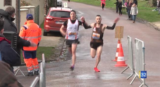 Canal 32 - Course à pieds : Blondel-Hermant et Ricardo en duo à Villemaur-sur-Vanne