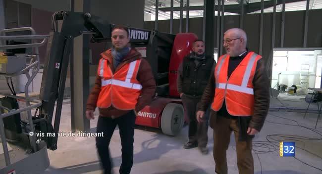 Canal 32 - Courteron : le maire de Bar-sur-Seine dans la peau d'un chef d'entreprise
