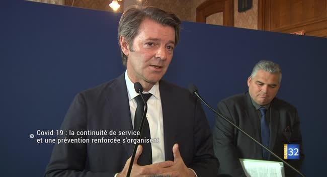 Canal 32 - Coronavirus Covid-19 : Troyes et TCM, la continuité de services et une prévention renforcée s'organisent
