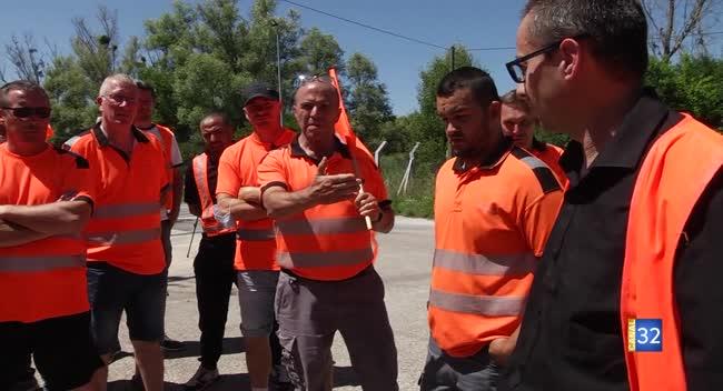 Canal 32 - Crancey : les salariés d'Icoa en grève