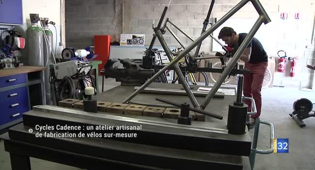 Canal 32 - Cycles Cadence : un atelier de vélos sur-mesure à La Chapelle Saint-Luc