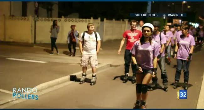 Canal 32 - Cyclistes et patineurs : RDV pour les randos nocturnes en ville