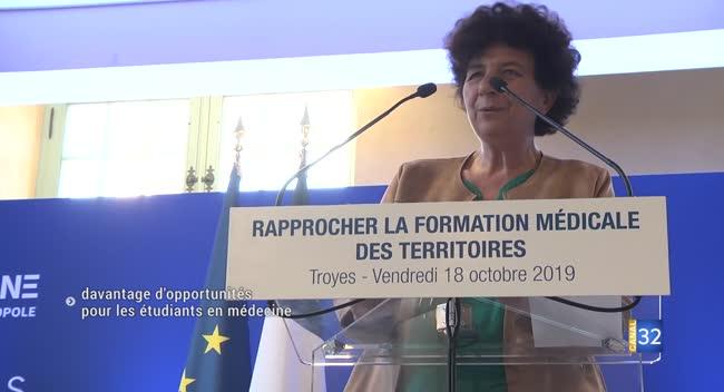 Canal 32 - Davantage d'opportunités pour les étudiants en médecine à Troyes