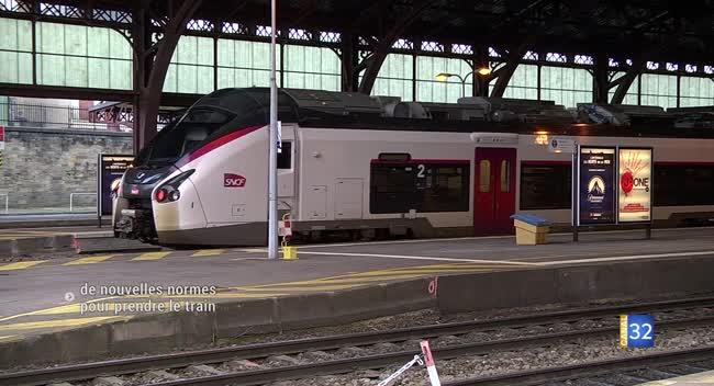 Canal 32 - De nouvelles normes pour prendre le train