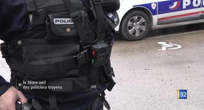 Canal 32 - Troyes : des caméras-piétons mises à disposition de la Police Nationale