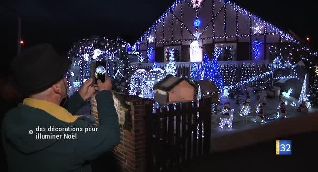 Canal 32 - Vendeuvre-sur-Barse : des décorations de Noël par milliers