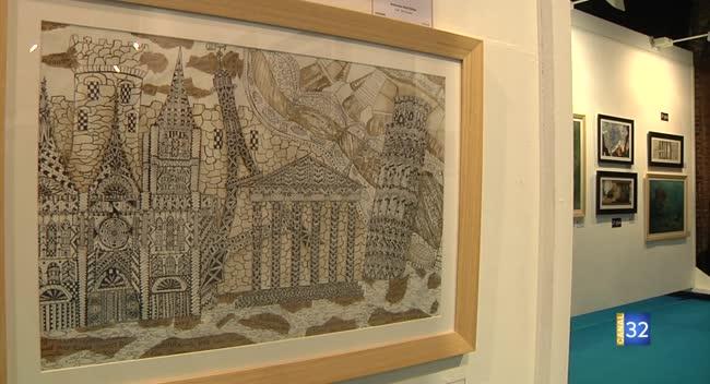 Canal 32 - Des dessins d'enfants archivés au centre pour l'Unesco
