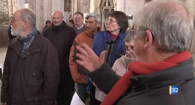 Canal 32 - Des formations gratuites pour devenir guide bénévole dans les églises